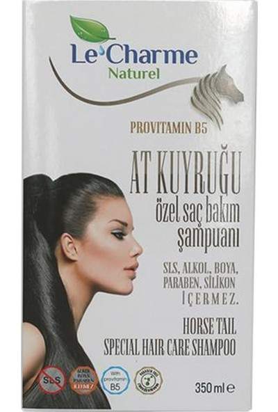 Le Charme Naturel At Kuyruğu Provitamin B5 Özel Saç Bakım Şampuanı