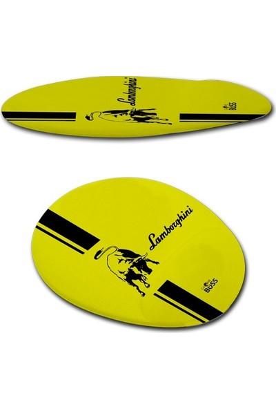 Gameboss Lemans Lamborghini Bilek Desteli Mouse Pad