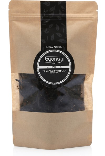 Byonay El Yapımı Siyah Çay 50 gr