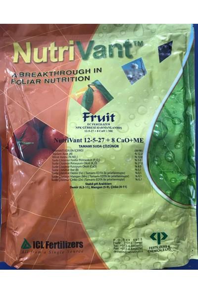 Nutrivant Fruit Npk 12.5.27 8cao me Yaprak Gübresi 2,5 kg