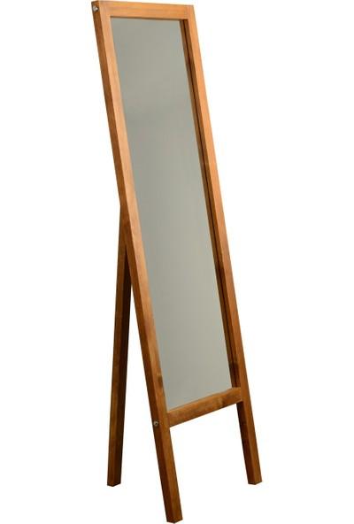NeoStill Neostill-Ayaklı Boy Ayna 55*170 Masif Doğal Ahşap A42