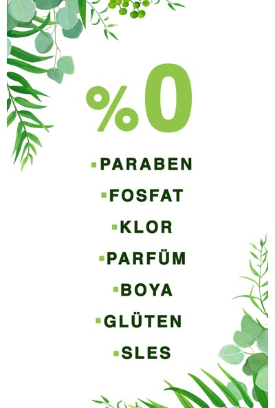 Just Green Organic Cam ve Yüzey Temizleyici 500 ml
