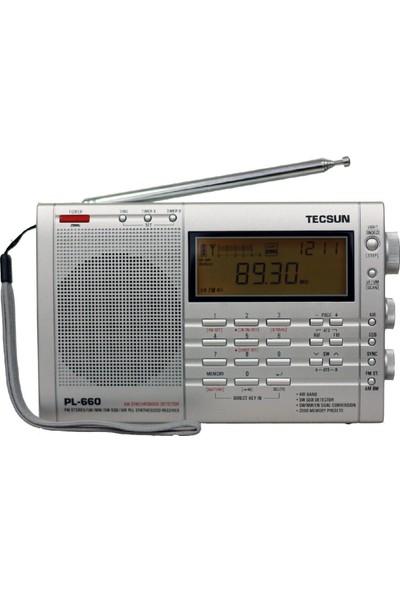 Tecsun PL-660 Dünya Radyosu (gri)