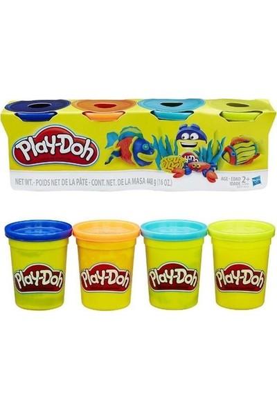 Play-Doh Hasbro Oyun Hamuru 4 Renk 448GR