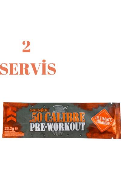 Grenade 50 Calibre Pre-Workout 23.2 Gr. 2 Servis Kan Portakalı