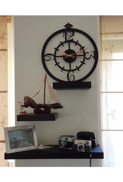 Perim Decor 60 cm Rakamlı Duvar Saati