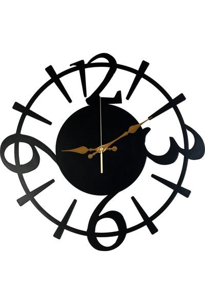 Perim Decor 80 cm 3-6-9-12 Rakamlı Duvar Saati