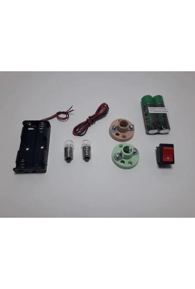 Kar Elektirik Deney Seti (Seri ve Parelel Devre Için Uygun)