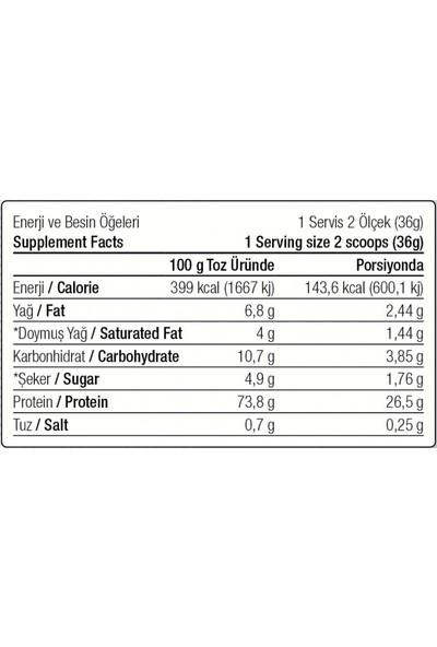 West Nutrition Whey Protein Tozu 504 gr 14 Servis