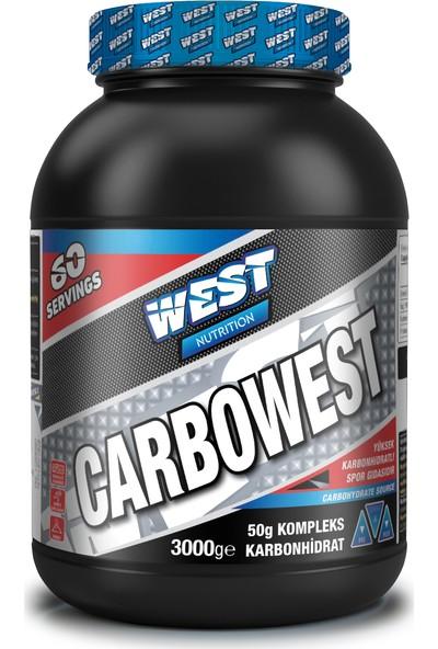 West Nutrition Carbowest Karbonhidrat Tozu 60 Servis Çikolata Aromalı 3000 gr