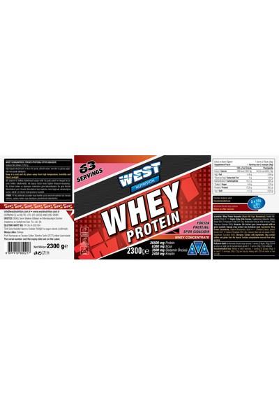 West Nutrition Whey Protein Tozu 2300 Gr + Bcaa 4:1:1 Karpuz + Shaker