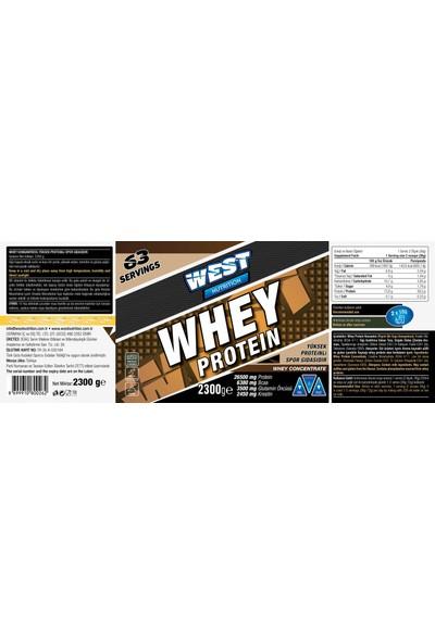 West Nutrition Whey Protein Tozu 2300 Gr + Kreatin + Shaker