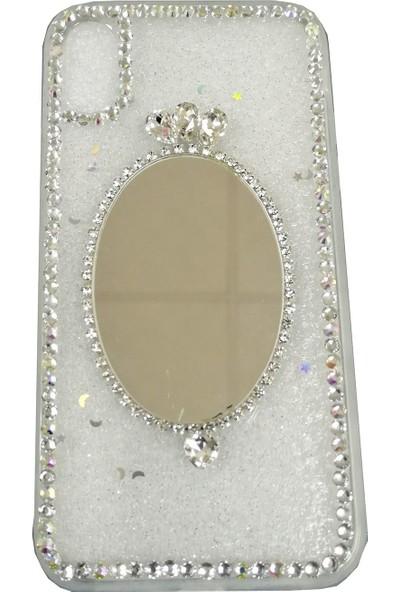 Haskom Apple iPhone Xr Taşlı Aynalı Kılıf