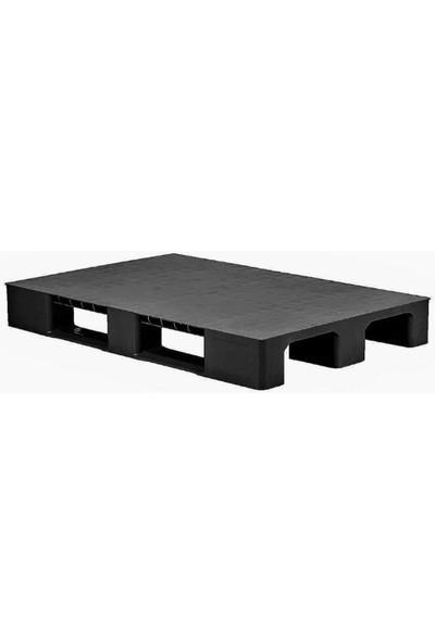 Hira Pullu Siyah Plastik Taşıma Paleti 80 x 120 x 15 cm
