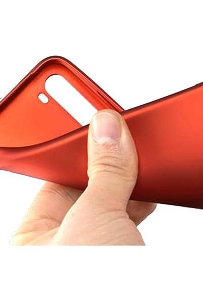 Gpack Xiaomi Redmi Note 8T Kılıf Premier Silikon Esnek Koruma Mürdüm
