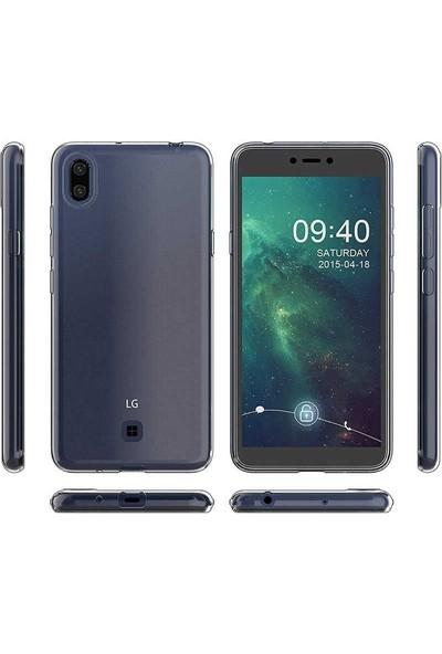 Gpack LG K20 2019 Kılıf Süper Silikon Yumuşak Arka Koruma Şeffaf