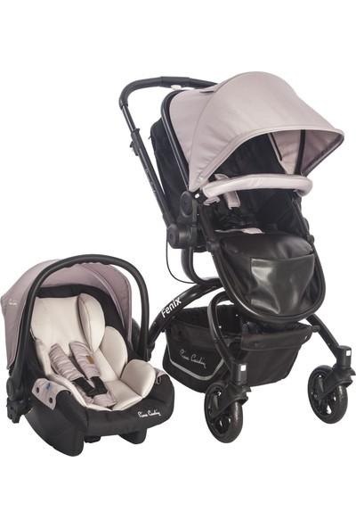 Pierre Cardin Fenix Bebek Arabası Kahverengi