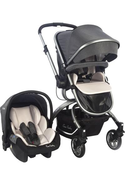 Pierre Cardin Twist +Plus Bebek Arabası Gri