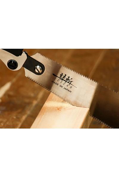 Suizan Ryoba Japon Testeresi Çift Taraflı Katlanır Saplı