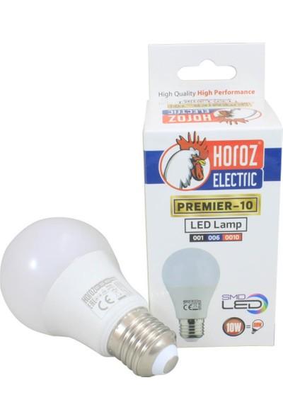 Horoz Premier 10W E27 Duy LED Ampül 4200K Gün Işığı