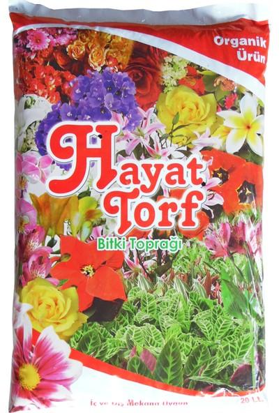 Hayat Torf Toprak Fidan Çiçek Toprağı 20 lt