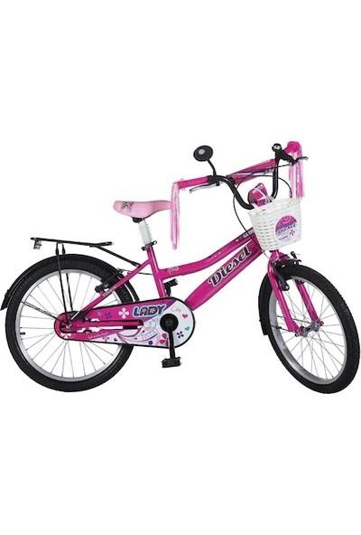 """Ümit Diesel Flora 20"""" Jant Çocuk Bisiklet"""