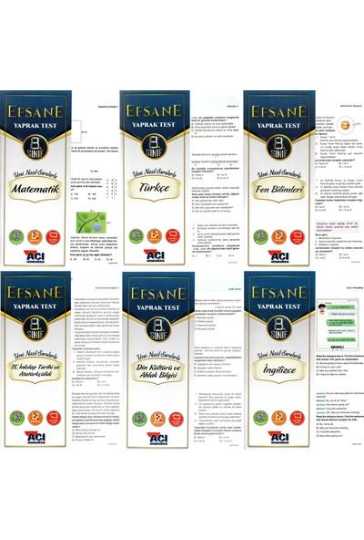 Açı Yayınları 8. Sınıf Çek Kopart Yaprak Test Seti 6 Test