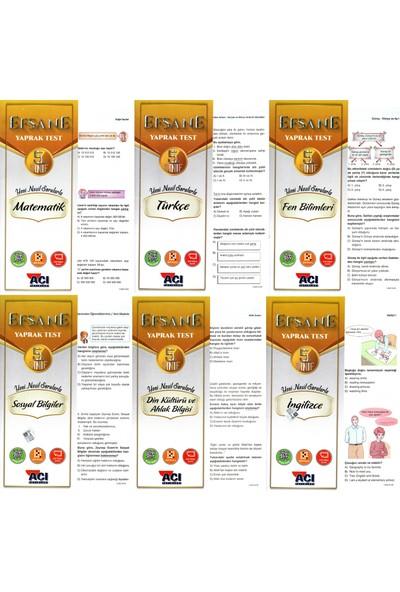 Açı Yayınları 5. Sınıf Çek Kopart Yaprak Test Seti 6 Test