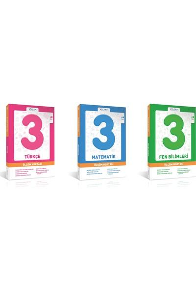 Bilfen Yayınları 3. Sınıf Matematik Türkçe Fen Ölçüm Noktası Set 3 Kitap