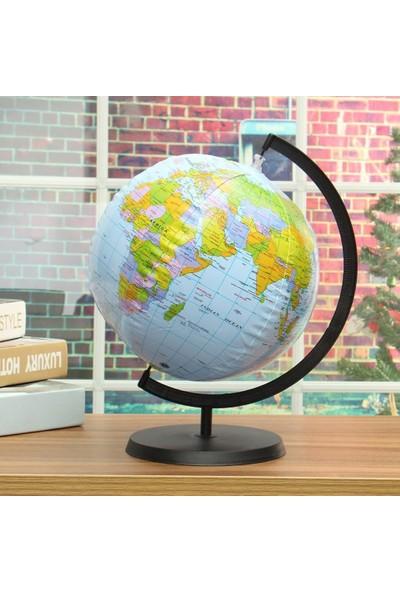 Rbc Şişme Dünya Küresi, Siyasi 30 Cm, En Büyük Boy Siyasi Yerküre