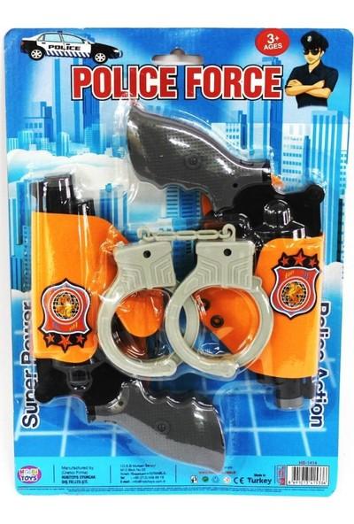 Hobi Toys Polis Seti Kelepçeli 2'li Kartelada Set