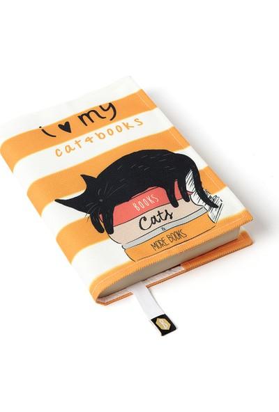 Bcoverart Kitap Kılıfı - Kitaplar Kediler
