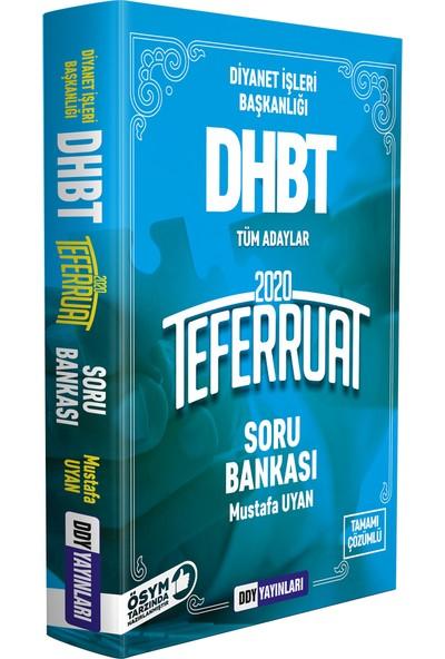 Ddy Yayınları DHBT 2020 Teferruat Serisi Çözümlü Soru Bankası