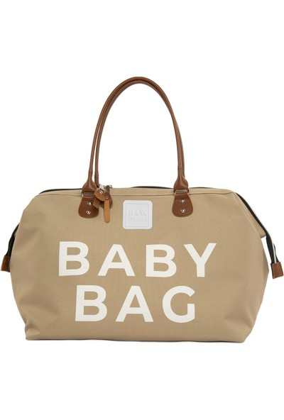 Bagmori Vizon Baby Bag Baskılı Bebek Bakım Çantası