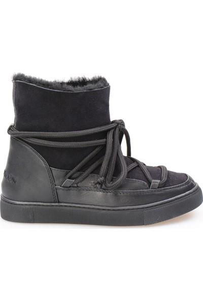 Cool Moon Hakiki Süet İçi Kürk Kadın Sneaker 355050