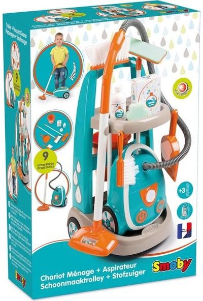 Smoby Çocuk Temizlik Arabası
