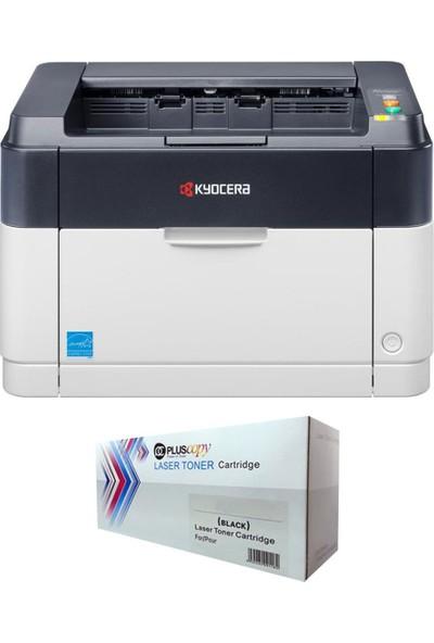 Kyocera FS-1040 Mono Lazer Yazıcı + 2500 Sayfalık Tam Dolu Pluscopy Toner
