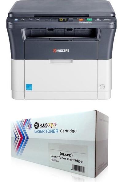 Kyocera FS-1020MFP Mono Lazer Yazıcı + 2500 Sayfalık Tam Dolu Pluscopy Toner