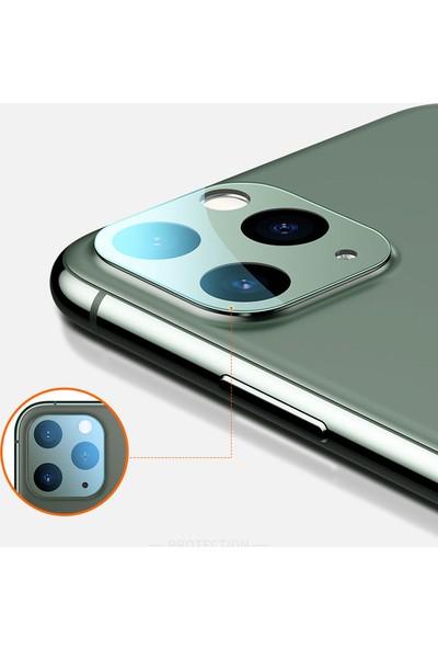 Alisveristime Apple iPhone 11 Pro Max Arka Kamera Koruyucu (Full)