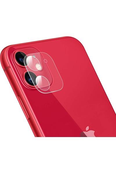 Alisveristime Apple iPhone 11 Arka Kamera Koruyucu (Full)