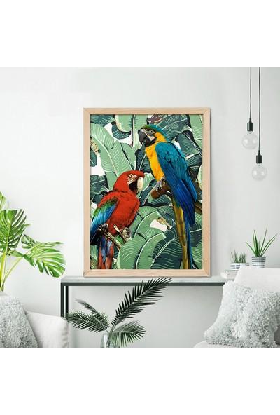 Vetro Design Ahşap Çerçeveli Poster 33 x 43 cm