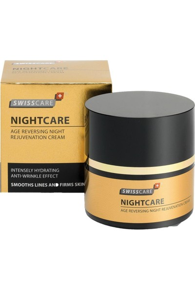 Swisscare NightCare Age-Reversing Night Rejuvenation Cream 50ml