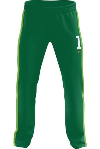 Freysport Active Yeşil Kaleci Forması Forma Uzun Alt Şort Çorap