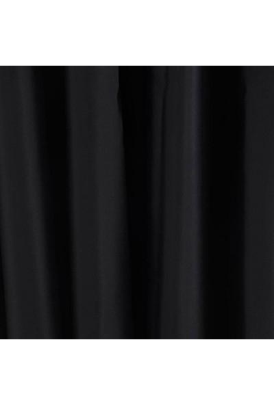 Caserta Home Pilesiz Blackout Karartma Güneşlik Perde V13 Siyah - 100 x 150 cm
