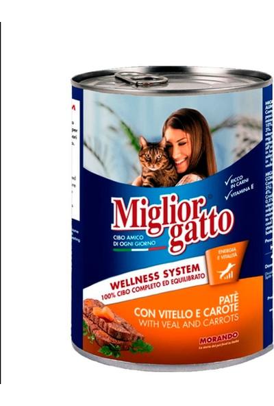 Miglior Gatto Dana - Havuç Pate Kedi Konserve 400 gr x 24 Adet