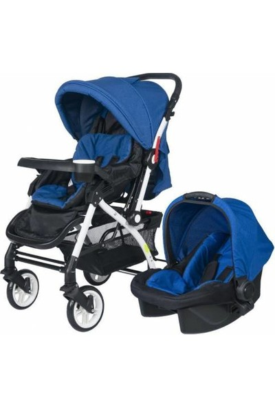 4 Baby Active Travel Sistem Bebek Arabası - Saks
