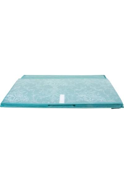 Rana Home Çok Amaçlı Sandık Tipi Mega Hurç Mavi 70 x 40 x 30 cm 8764