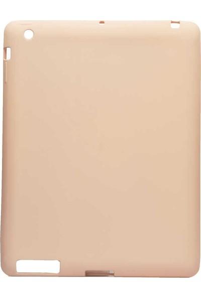 Case Street Apple iPad Air 2/3/4Kılıf Premier Soft Mat Silikon Açık Pembe