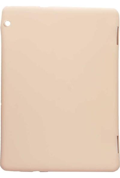 "Case Street Huawei MediaPad T5 10"" Kılıf Premier Soft Mat Silikon Açık Pembe"