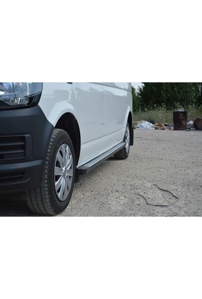 Ekiciler Volkswagen Transporter Kısa (2004 Sonrası) Alüminyum Yan Basamak
